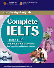 Libro in inglese Complete IELTS Bands 4-5 Student's Book with Answers with CD-ROM Guy Brook-Hart Vanessa Jakeman