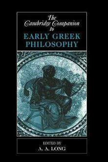 The Cambridge Companion to Early Greek Philosophy - cover