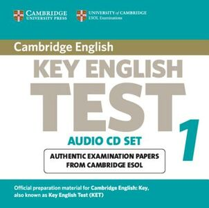 Libro in inglese Cambridge Key English Test 1 Audio CD Set (2 CDs): Examination Papers from the University of Cambridge ESOL Examinations  - Cambridge ESOL
