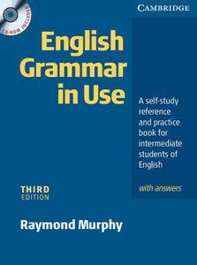 Libro in inglese English Grammar In Use with Answers and CD ROM: A Self-study Reference and Practice Book for Intermediate Students of English  - Raymond Murphy