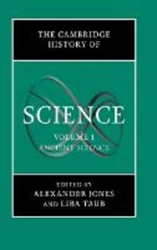 The Cambridge History of Science: Volume 1, Ancient Science - cover