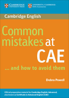 Common Mistakes at CAE...and How to Avoid Them - Debra Powell - cover