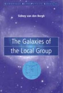 The Galaxies of the Local Group - Sidney Bergh - cover