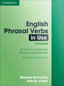 Libro in inglese English Phrasal Verbs in Use: Advanced Michael McCarthy Felicity O'Dell