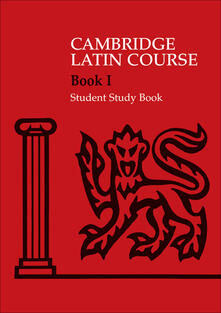 Cambridge Latin Course 1 Student Study Book - Cambridge School Classics Project - cover