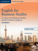 Libro in inglese English for Business Studies Student's Book: A Course for Business Studies and Economics Students Ian Mackenzie
