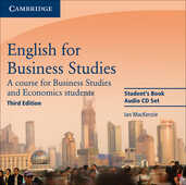Libro in inglese English for Business Studies Audio CDs (2): A Course for Business Studies and Economics Students Ian Mackenzie