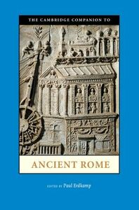 Foto Cover di The Cambridge Companion to Ancient Rome, Libri inglese di  edito da Cambridge University Press
