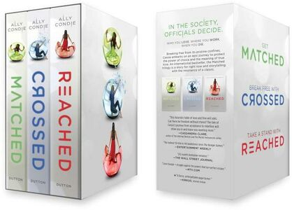 Libro in inglese Matched Trilogy Box Set: Matched/Crossed/Reached  - Ally Condie