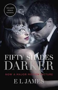 Fifty Shades Darker - E L James - cover