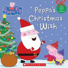 Peppa's Christmas Wish (Peppa Pig) - Scholastic - cover