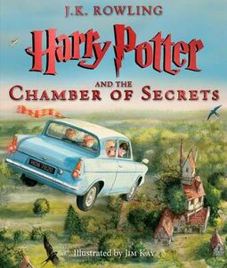 Libro in inglese Harry Potter and the Chamber of Secrets: The Illustrated Edition (Harry Potter, Book 2)  - J K Rowling