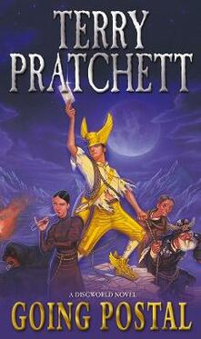 Going Postal: (Discworld Novel 33) - Terry Pratchett - cover