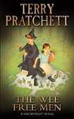 Libro in inglese The Wee Free Men Terry Pratchett