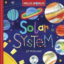 Hello, World! Solar System - Jill McDonald - cover