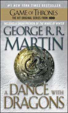 A Dance with Dragons: A Song of Ice and Fire: Book Five - George R. R. Martin - cover