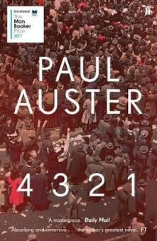 4 3 2 1 - Paul Auster - cover