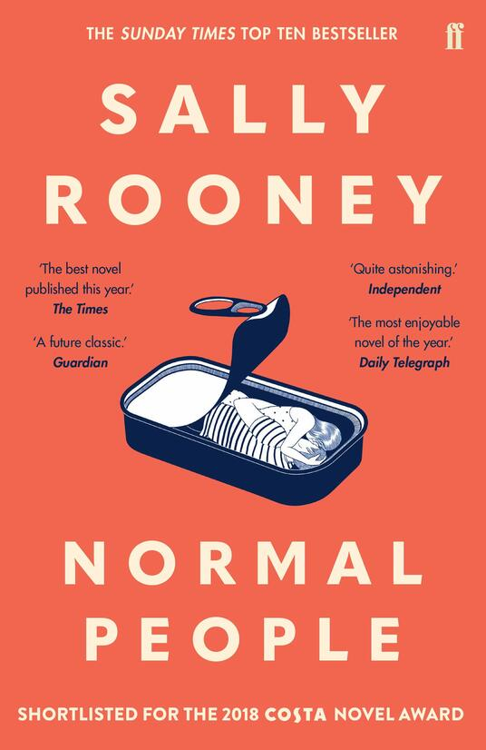 Normal People: One million copies sold - Sally Rooney - cover