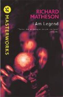 I Am Legend - Richard Matheson - cover