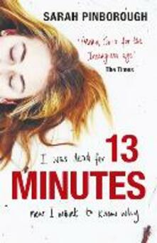 13 Minutes - Sarah Pinborough - cover