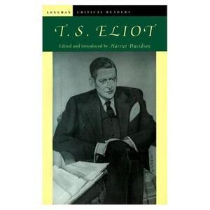 T. S. Eliot - Harriet Davidson - cover