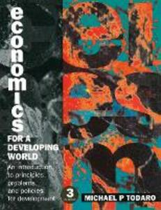 Economics for a Developing World - Michael P. Todaro - cover