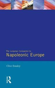 Napoleonic Europe - Clive Emsley - cover