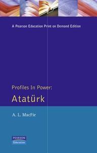 Ataturk - Alexander Lyon Macfie - cover