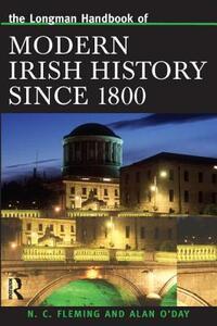 Longman Handbook of Modern Irish History Since 1800 - Alan O'Day - cover