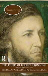 The Poems of Browning: Volume Three: 1846 - 1861 - cover