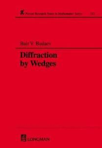 Diffraction by Wedges - Bair V. Budaev - cover