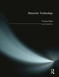 Materials Technology - Yvonne Dean - cover