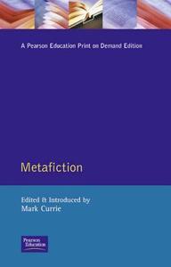 Metafiction - Mark Currie - cover