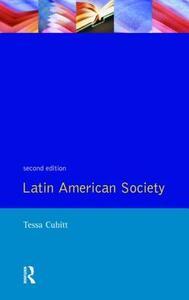 Latin American Society - Tessa Cubitt - cover