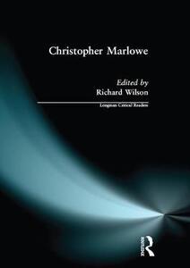 Christopher Marlowe - Richard Wilson - cover