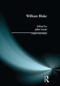 William Blake - John Lucas - cover
