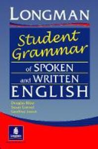 Longman's Student Grammar of Spoken and Written English Paper - Douglas Biber,Susan Conrad,Geoffrey Leech - cover