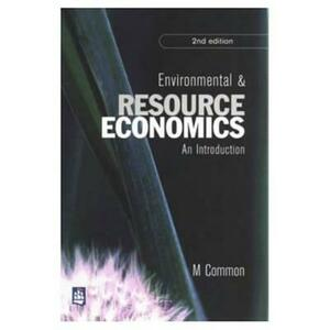 Environmental and Resource Economics - Michael S. Common - cover
