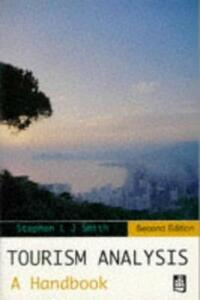 Tourism Analysis: A Handbook - S.L.J. Smith - cover