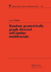 Random Geometrically Graph Directed Self-Similar Multifractals - Lars Olsen - cover