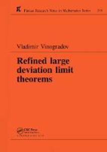 Refined Large Deviation Limit Theorems - Vladimir Vinogradov - cover