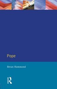Pope - Brean S. Hammond - cover