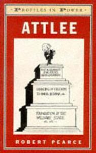 Attlee - Robert Pearce - cover