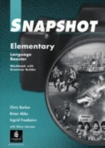 Snapshot Elementary Language Booster 1 - Brian Abbs,Ingrid Freebairn,Chris Barker - cover