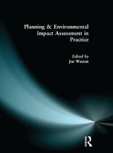 Planning and Environmental Impact Assessment in Practice - Joe Weston - cover