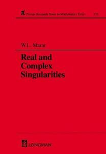 Real and Complex Singularities - W.L. Marar - cover