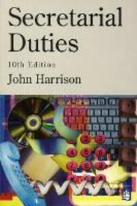 Secretarial Duties 10th Edition - Paper - John Harrison - cover