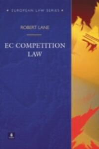 EC Competition Law - Robert Lane - cover