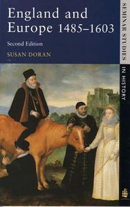 England and Europe 1485-1603 - Susan Doran - cover