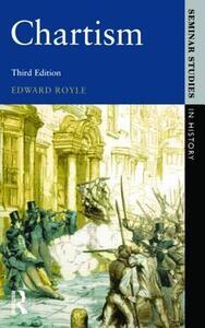 Chartism - Edward Royle,Roger Lockyer - cover